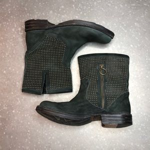 Fiorentini + Baker Embellished Boot with Side Zip